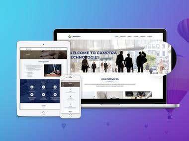 Web Design + WordPress Development