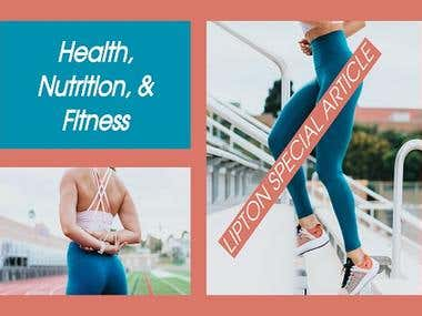 Health, Nutrition, & Fitness