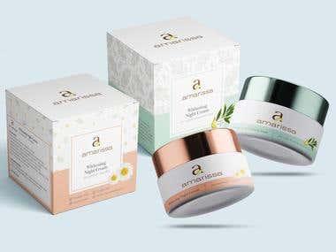 Amarissa Label and Packaging Design