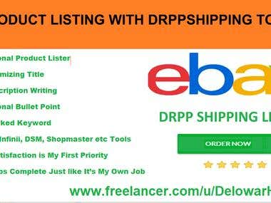 Dropshipping Ebay Listing, SEO Title,Description, Research