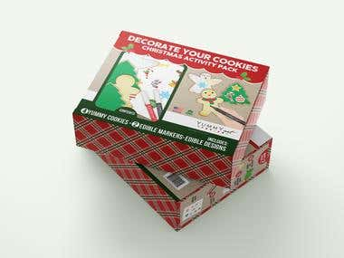 Yummy Art Cookie Kit Packaging