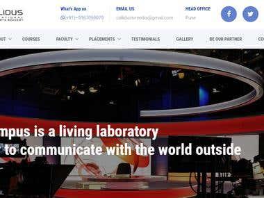 website designed for Callidus