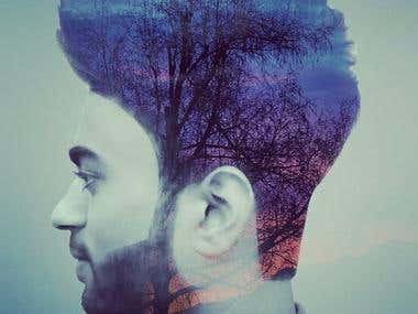 Double exposure images