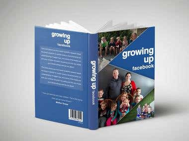 Facebook Style Book Cover