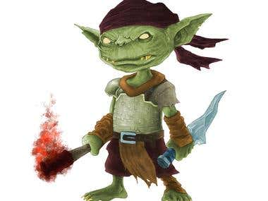 ILLUSTRATION: Goblin design