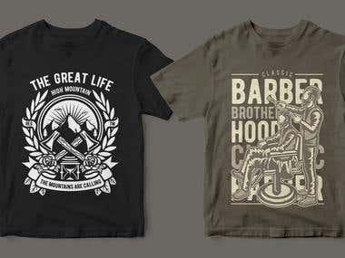 I will make Amazing and Unique T-shirt Design