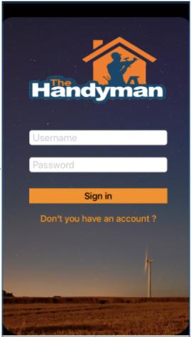 Handyman Application