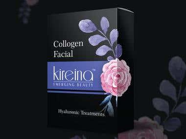 Kireina Emerging Beauty - Collagen Facial Box