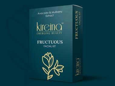Kireina Emerging Beauty - Fructuous Facial Kit Box