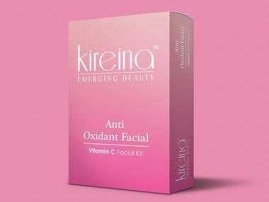 Kireina Emerging Beauty - Anti-Oxidant Facial Kit Box