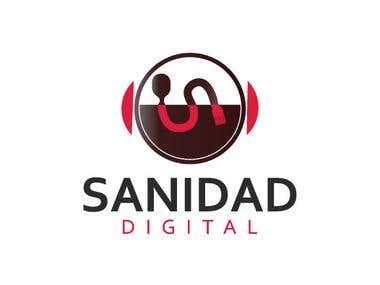 Text icon logo