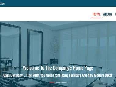 Company Web Site - English