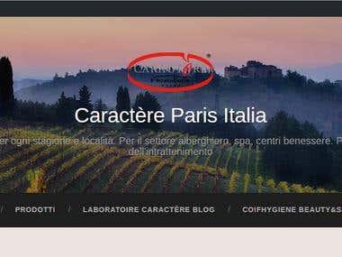 Caractère Paris - blog