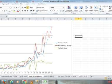 Data Mining by Excel - Forecasting Data