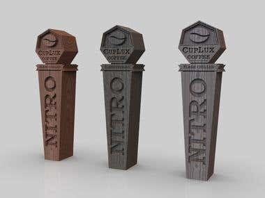 3D Tap handle for 3D printing