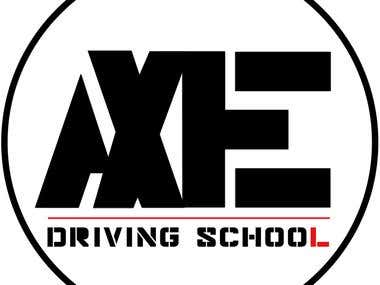 Driving School Logo Design and Marketing Materials