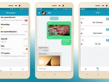 System Management And Chat app