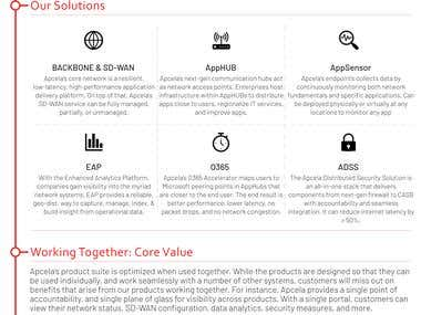 Company One-Pager Design