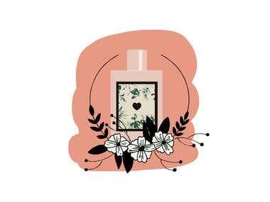 Perfume Illustration
