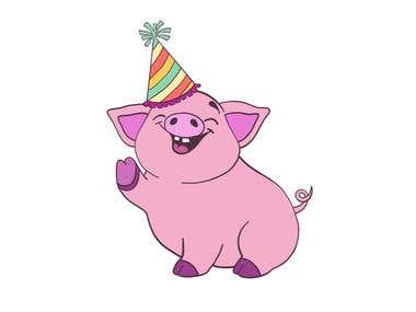 Pig Party Logo