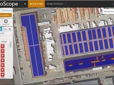 Solar PV design using Helioscope