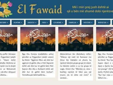El-Fawaid | Be useful