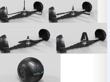 3D Holograph Mechanism Design
