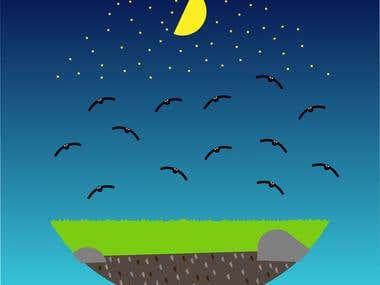 night ilustration.