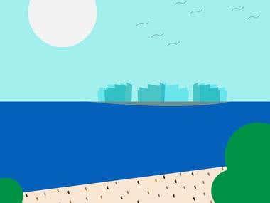view ilustration