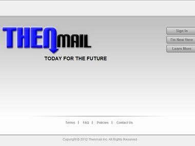 Thenmail (ASP.NET, MSSQL , AJAX, JAVA Script )