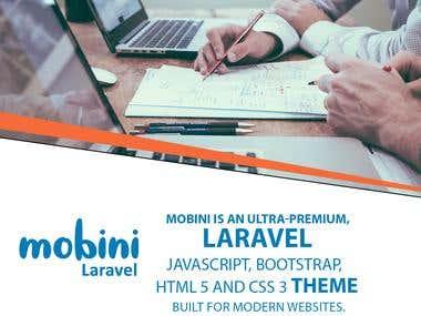 Mobini | Responsive Multi-Purpose Laravel Theme