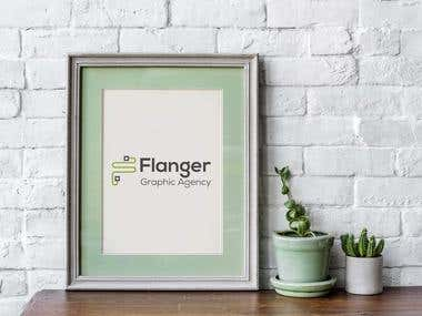 Brand for Flanger Graphic Agency