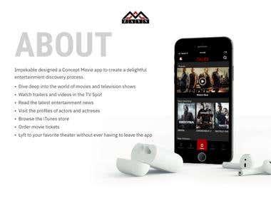 Zalex Movies IOS app