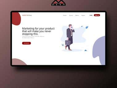 Landing Page - Show New Service