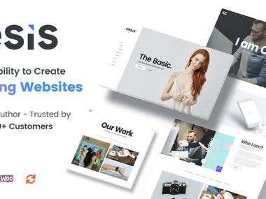 PSD to Website Design