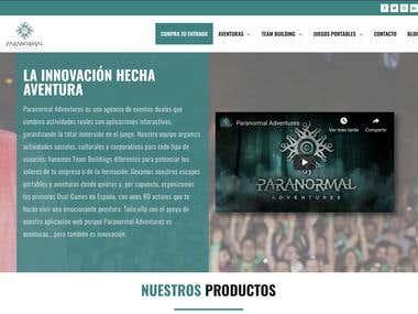 Web Paranormal-adventures.es