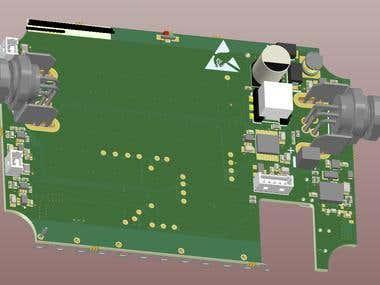 Ultrasonic device to monitor wastebins