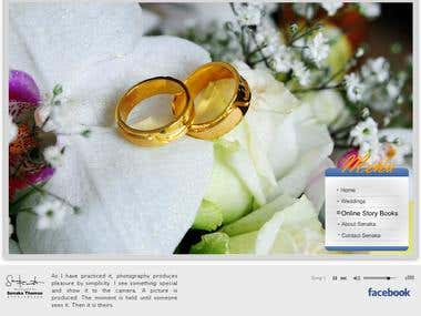 Senaka studio web site