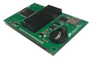 Dual ARM Microcontroller board