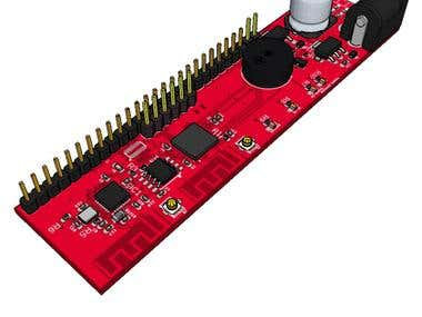 Dual ESP32 Micro board