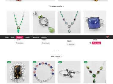 Rossana Jones - Magento - Jewellery eCommerce