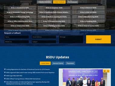 BSDU - Education - WordPress