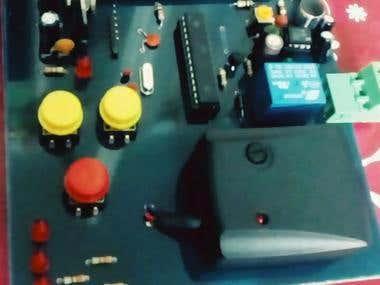 Micro controller & LCD & Temperature