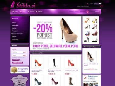 ZenCart Web Shop