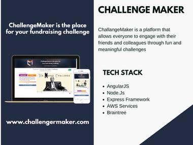 Challenge maker
