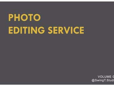Photo Editing Service - Product