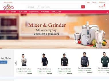 Web Design And Development For E commerce WebSite