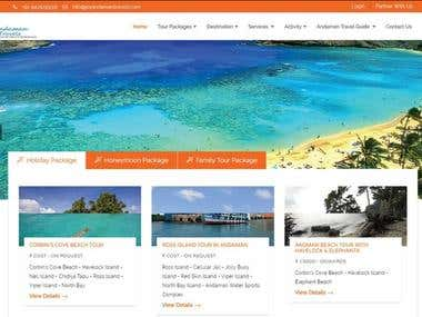 Web Development For Travel Website