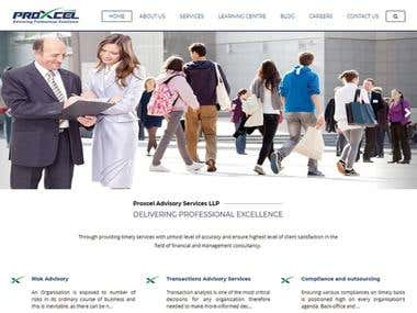 Web Design And web Development For Advisory Firm Website