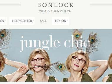 Bonlook is an online eyewear stor
